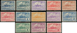 ** URUGUAY - Poste Aérienne - 89/96 + 99/100, Complet 13 Valeurs: Chars à Boeufs - Uruguay