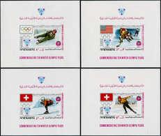 ** YEMEN ROYAUME - Blocs Feuillets - Michel 95/105, Complet: Jeux Olympiques D'hiver 1924/68 - Yemen