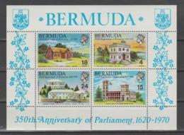 BERMUDA  1970   **   MNH  YVERT  S/S  1 - Bermuda