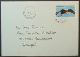 Mauritius - Cover To Portugal 2015 Fauna Bat 14R Solo - Maurice (1968-...)