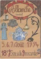 1994 ALLANCHE 18 Eme Foire à La Brocante - Allanche