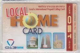 ISRAEL 2012 LOCAL HOME 013 BARAK 150 UNITS JERUSALEM USED PHONE CARD - Israel