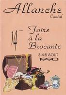 1990 ALLANCHE 14 Eme Foire à La Brocante - Allanche