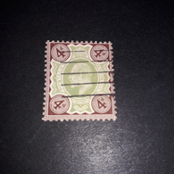 "FB1019 GB KING EDWARD 4 D. ""O"" - 1902-1951 (Re)"