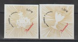 France 2014 Coeur Baccarat 939 Et 940 Neufs ** MNH - Autoadesivi