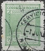 BOLIVIA 1945 Air. Panagra Airways, Tenth Anniversary Of First La PazTacna Flight -  90c - Green FU - Bolivie