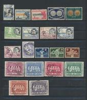BELGISCH CONGO BELGE -1952/8   20 Timbres Oblitérés - Congo Belge