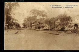 Carte Illustrée Obl.  N° 66. Vue: 3. Elisabethville. - Avenue De Tabora. Obl. 22/11/1929 Pour Ostende - Stamped Stationery