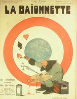 LA BAIONNETTE-1918-150-AVIATEURS PEINTS Par EUX MEMES-FRAIS D'ATTERRISSAGE - Livres, BD, Revues