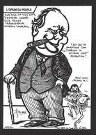 CPM Angleterre Satirique Tirage Limité Numéroté Signé En 100 Exemplaires Churchill Blair - Other