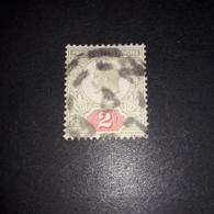 """FB1027 GB KING EDWARD 2 D. """"XO"""" - 1902-1951 (Re)"""