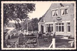CPA - KNOKKE - KNOCKE ZOUTE - Le Moulin - Spécialité De Gaufres - Avenue Du Bois - Nels - PUB COCA COLA - OLDTIMERS - Knokke
