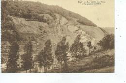 """Yvoir Vallée Du Bocq Et Grande Carrière ( Carte Ayant Une Pliure Peu """" Visible """" Au Centre Gauche De Bas En Haut ) - Yvoir"""