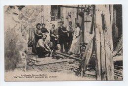 - CPA CHATEAU-THIERRY (02) - Bombardé Par Un Taube 1917 (belle Animation) - Edition Bouvigny - - Chateau Thierry