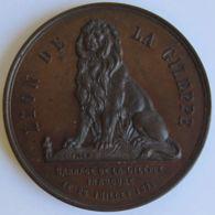 M02091 LION DE LA GILEPPE - EXCURSION - CERCLE WEBER ST. JOSSE TEN NOODE - 1878 (52g) - Firma's