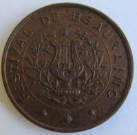 M02095  FESTIVAL DE BEAURAING - SOCIETE D'HARMONICA - LES ECHOS DE LA FAMENNE - 1877 (10g) - Firma's