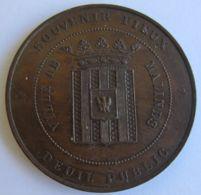 M02096  SOUVENIR PIEUX - CARDINAL ARCHEVEQUE ENGELBERT STERCKX - MALINES - 1867 (10g) - Firma's