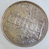 AG01866  EURATOM - PACTA ROMANA 1957 - 1967 - DIXIEME ANNIVERSAIRE DE LA SIGNATURE DES TRAITES DE ROME (Ag 14g) - Italia