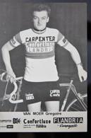 Carte Cyclisme Coureur Cycliste Flandria Carpenter Gregoire VAN MOER - Cyclisme