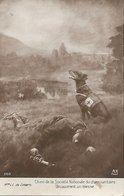 """L100G049 - Guerre 14-18  Chien  Sanitaire Découvrant Un Blessé - Mme LC De Liniers - A.Noyer """"Galerie Patriotique"""" N°260 - Guerre 1914-18"""