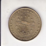 Jeton Médaille Monnaie De Paris MDP Chateau De Cheverny 1999 - Monnaie De Paris