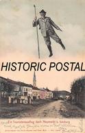 NEUMARKT B. SALZBURG AUSTRIA~EIN TOURISTENAUSLFLUG~1905 PHOTO POSTCARD 46469 - Österreich