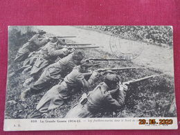 CPA - Les Fusillers-marins Dans Le Nord De La France - La Grande Guerre 1914-15 - Guerre 1914-18