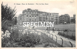 57 Place De Rochefort - Vue Du Parc Fleuri  - Forrest - Vorst - Forest - Vorst
