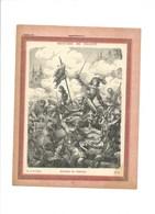 BATAILLE DE FRIBOURG Couverture De Cahier Histoire De France TB 222 X 172  3 Scans - Protège-cahiers