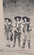 De Drie Van Haersolte's ( Briefkaart ) - Teatro