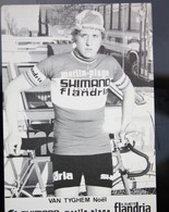 Carte Cyclisme Coureur Cycliste Flandria Noel VAN TYGHEM - Cyclisme