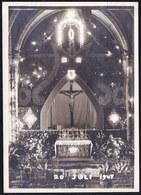 OUDE PERSFOTO * MARIAHULDE KORTEMARK 1947 * 14.5 X 10CM - Kortemark
