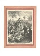 BATAILLE DE SAINT AUBIN DU CORMIER Couverture De Cahier Histoire De France TB 222 X 172  3 Scans Didactique - Protège-cahiers