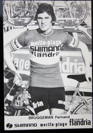 Carte Cyclisme Coureur Cycliste Flandria Merlin-Plage Fernand BRUGGEMAN - Cyclisme
