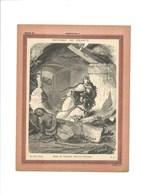 MORT DE CHRAMNE Fils De CLOTAIRE Couverture De Cahier Histoire De France TB 222 X 172  3 Scans Didactique - Protège-cahiers