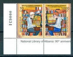 Albania 2010 National Library 2v Se-ten MNH - Albanien