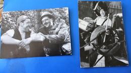 2 CPSM FERNANDEL De Marcel Pagnol La Fille Du  Puisatier Le Schpounz Thème  Spectacle Cinéma Acteurs-Carte Postale - Actores
