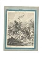 PHILIPPE AUGUSTE À BOUVINES Couverture De Cahier Histoire De France TB 222 X 172  3 Scans Didactique - Protège-cahiers