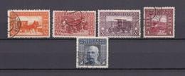 Bosnien Und Herzegowina - 1906 - Michel Nr.39/42 A + 44 A - Gest. - 30 Euro - Gebraucht