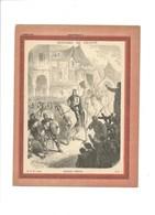 CHARLES MARTEL Poitiers 732 Couverture De Cahier Histoire De France TB 222 X 172  3 Scans Didactique - Protège-cahiers