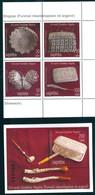 Albania 2010 Silver Handicraft Culture 4v + Bl. S/S MNH - Albanien