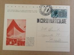 CARTOLINA POSTALE 1954 -FIERA DI MILANO (IN CORSO PARTICOLARE) - Italy