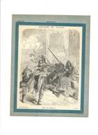 MORT DE HENRI II Couverture De Cahier Histoire De France TB 222 X 172  3 Scans Didactique - Protège-cahiers