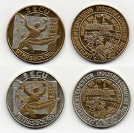 STRASBOURG 1995 / ECU - EURO DES VILLES - PIECES  DE 1 & 5 ECUS (ref 5539) - Frankrijk