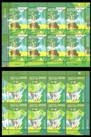 380 - Belarus - 2011 - Europa - Forests - 2 Sheetlets Of 8v - MNH - Lemberg-Zp - Wit-Rusland