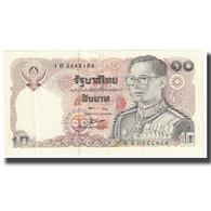 Billet, Thaïlande, 10 Baht, KM:87, SUP+ - Thailand