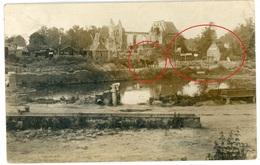 Soldatenleben - Villers Au Flos - Haplincourt - Frankreich -   WWI Carte  Photo Allemande - Guerre 1914-18
