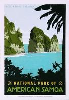 National Park Of AMERICAN - SAMOA (USA) - See Pola Island - 100th ANNIVERSARY - American Samoa