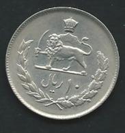 Iran 10 Rials 1975 SH 1354   Laupi12504 - Iran