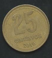 ARGENTINE - 25 Centavos 2010  -   Laupi 12514 - Argentina